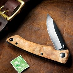 Finally, A Slim Lightweight Pocketknife with the Superior Performance of a Ceramic Blade for Scalpel-Like Cutting Precision and Unrivaled Durability!