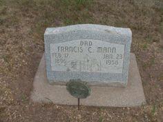 Francis Christopher Mann (1896 - 1958) - Find A Grave Photos (Hayden Cemetery, Routt, Colorado