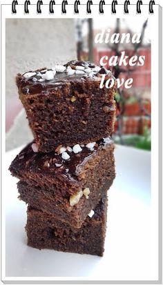 diana's cakes love: Negresa cu expresso si nuci