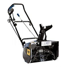 Snow Joe Ultra 18 in. Amp Electric Snow Thrower with Light - Holiday lights aren't the only ones to illuminate the winter season - the Snow Joe Ultra 18 in. Amp Electric Snow Thrower with Light will light. Electric Snow Blower, Electric Light, Electric Power, Halogen Headlights, Riding Lawn Mowers, Removal Tool, Lawn Care, Lawn And Garden, Blue Garden