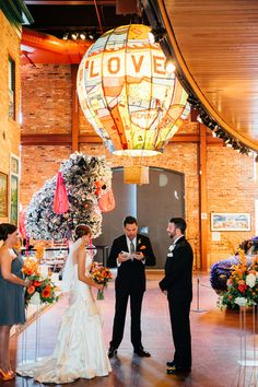 Modern art museum ceremony venue idea - American Visionary Art Museum in Baltimore, MD.  {Bradley Images, inc.}