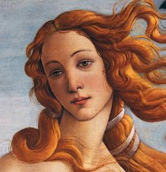 The Birth of Venus, detail, by Botticelli