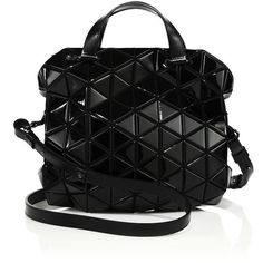 Bao Bao Issey Miyake Tonneau Geometric Faux-Leather Crossbody Bag (6,030  MYR) ❤ liked on Polyvore featuring bags, handbags, shoulder bags, ... 38c284d60d