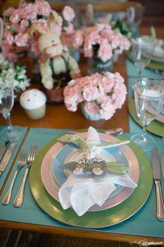 Mesa Posta Páscoa - Easter Tableware - Como receber na Páscoa Produção: Silvia Giacobbe / Fotografia Rafaela Azevedo