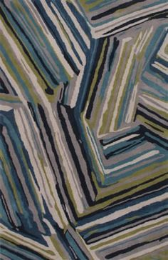 Jaipur Rugs Traverse Pick-Up-Sticks Tv59 Brittany Blue - Moroccan Blue Area Rug