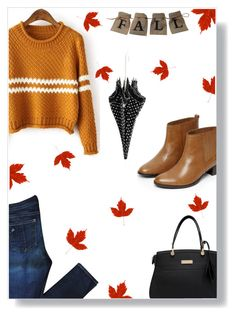 """""""Fall"""" by andreastoessel ❤ liked on Polyvore featuring Warehouse, rag & bone and Moschino Cheap & Chic"""
