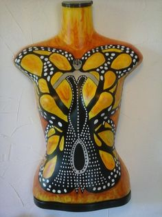 Breast Cancer Survivor Creates Art on Mannequins as means of Healing | The Mannequin Madness Blog