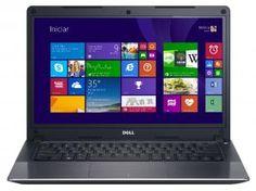 Notebook Dell Vostro V14T-5470-A20 Intel Core i5 - 4GB 500GB Windows 8 LED 14 HDMI Placa de Vídeo 2GB