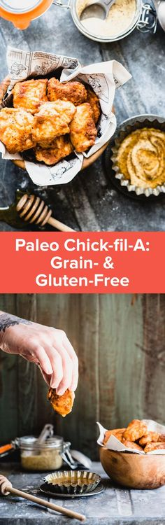 Make this Paleo Chick-fil-A at home for a healthier version of the fast food favorite! The secret is in the pickle juice! It's grain-free! | StupidEasyPaleo.com
