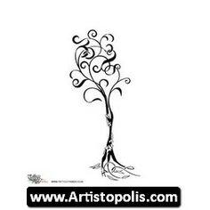 Family Tree Tattoo Family Tree Shaded 26673