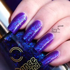 Dance Legend Final Fantasy 614 Candy Flakes Collection - Review and swatches
