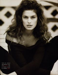 ☆ Cindy Crawford | Photography by Marco Glaviano | For Vogue Magazine Italy | June 1990 ☆ #Cindy_Crawford #Marco_Glaviano #Vogue #1990