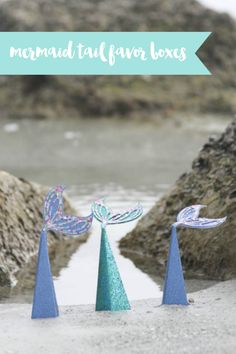 Mermaid Tail Party Favors with The Cricut Scoring Wheel - Everyday Party Magazine