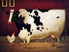 lowell herrero art | Animal Art - Herrero Lowell] Farm Animals; DISPLAY FULL IMAGE.