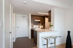 Studio Suite in Highrise, Large Gym, Great Amenities, Views! Vancouver Apartment, Apartments, Gym, Cabinet, Studio, Storage, Furniture, Home Decor, Clothes Stand