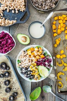 Roasted Rainbow Winter Bowl  |  Keepin' It Kind