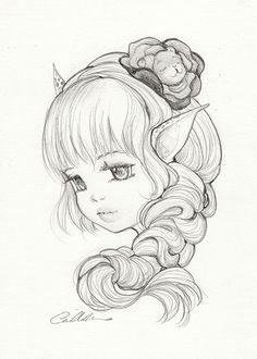 Pencil Work and Sketches | Camilla d'Errico
