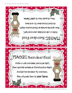... Reindeer food on Pinterest | Reindeer food, Reindeer dust and Reindeer