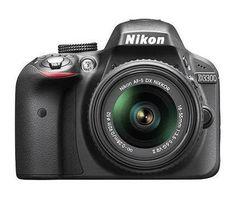 Nikon D3300 24.2MP Digital SLR Camera w/ 18-55mm VR II Lens (Refurbished) $430 + Free Shipping