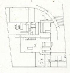 Tadao Ando Koshino House Plan Add por Isabela Pinheiro tp1  Art Architecture  Landscape  Tadaoo House plans House