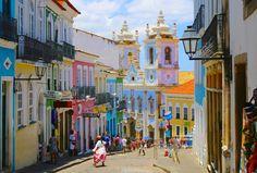 O que fazer em Salvador - Bahia: Pontos Turísticos de Salvador, Pelourinho, Praias em Salvador, Dicas de viagem a Salvador, passeios em Salvador, Onde ficar