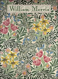 William Morris Boxed Notecards, Bower Pattern.