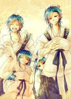 Magi the original royal siblings