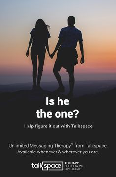 Are you at a breaking point in your relationship? It�s time to take care of yourself first. Learn how more than 300,000 users have improved their personal lives and relationships with Talkspace. Get unlimited text therapy 24/7, starting at just $32 a week. Visit talkspace.com for effective, convenient affordable therapy that fits your lifestyle.