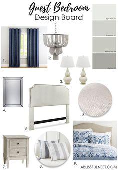 Guest Bedroom Design Ideas: Guest Bedroom Ideas + Design Plans