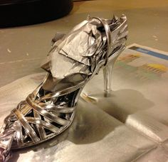 Spray paint your shoes!!