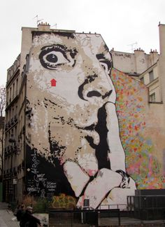 Dali - Paris graffiti