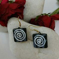 Terracotta Earrings by CraftsandLooms.com