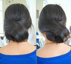 Upięcie. #hairstyle #fryzury