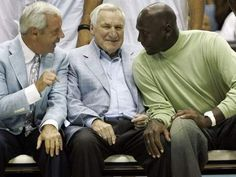Roy Williams, Dean Smith and M.J.