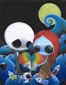 Jack and Sally ice Cream