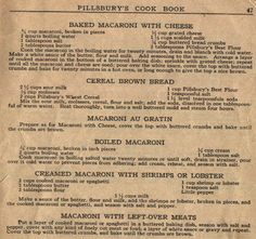Things Your Grandmother Knew: 5 Vintage Macaroni Recipes