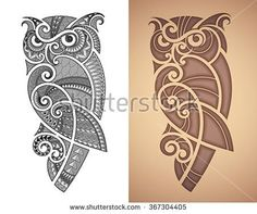Find Maori Styled Tattoo Pattern Owl Fits stock images in HD and millions of other royalty-free stock photos, illustrations and vectors in the Shutterstock collection. Thousands of new, high-quality pictures added every day.