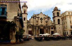 """Church in Havana, Cuba.    """":O)"""
