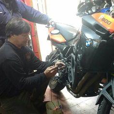 Vicente con BMW F800