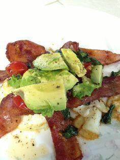 Paleo BLT Breakfast, except skip the eggs.