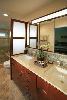 Pasadena Japanese Craftsman - asian - bathroom - los angeles - SYI Design, LLC