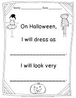 Halloween Costume Writing
