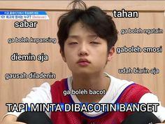 meme meme indonesia crush on you Memes Funny Faces, Funny Kpop Memes, Cute Memes, Funny Tweets Twitter, Funny Duck, K Meme, Text Jokes, Meme Stickers, Drama Memes