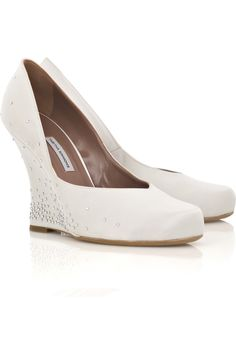 find this pin and more on bride essentials wedding shoe wedge for grass