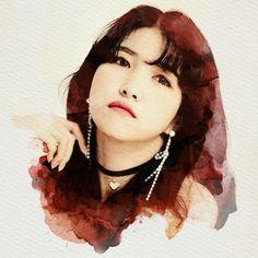 Gfriend And Bts, Gfriend Sowon, Kim Yerim, G Friend, Kpop, Doraemon, Mamamoo, Portrait Art, Bigbang