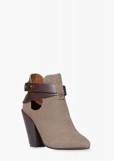 Sixty Seven Leah Bootie in Taupe | Necessary Clothing