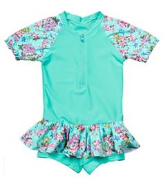 Seafolly Girls Kitchen Tea Playsuit (4-7) #swimoutlet Boys Trunks, Swimsuits 2014, Swim Shop, Seafolly, Playsuit, Rompers, Tea, Free Shipping, Girls