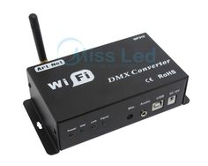 WF310 WiFi-DMX Converter DC12V output DMX 512 signal wireless control by IOS Android system