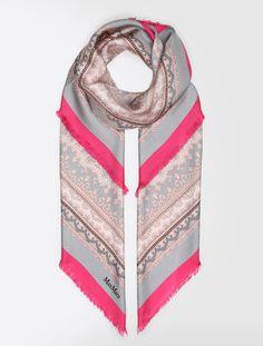 GUESS Logo LUX Scarf Sciarpa accessorio Blush Rosa Nuovo