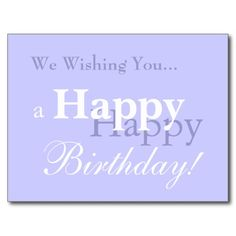 >>>This Deals          We Wishing You... a Happy Birthday! Post Cards           We Wishing You... a Happy Birthday! Post Cards In our offer link above you will seeDiscount Deals          We Wishing You... a Happy Birthday! Post Cards Online Secure Check out Quick and Easy...Cleck Hot Deals >>> http://www.zazzle.com/we_wishing_you_a_happy_birthday_post_cards-239111701204226433?rf=238627982471231924&zbar=1&tc=terrest